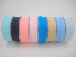 Satin and Organza Ribbon