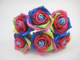 NEW COLOURFAST FOAM ROSES AND DESIGNS 2015