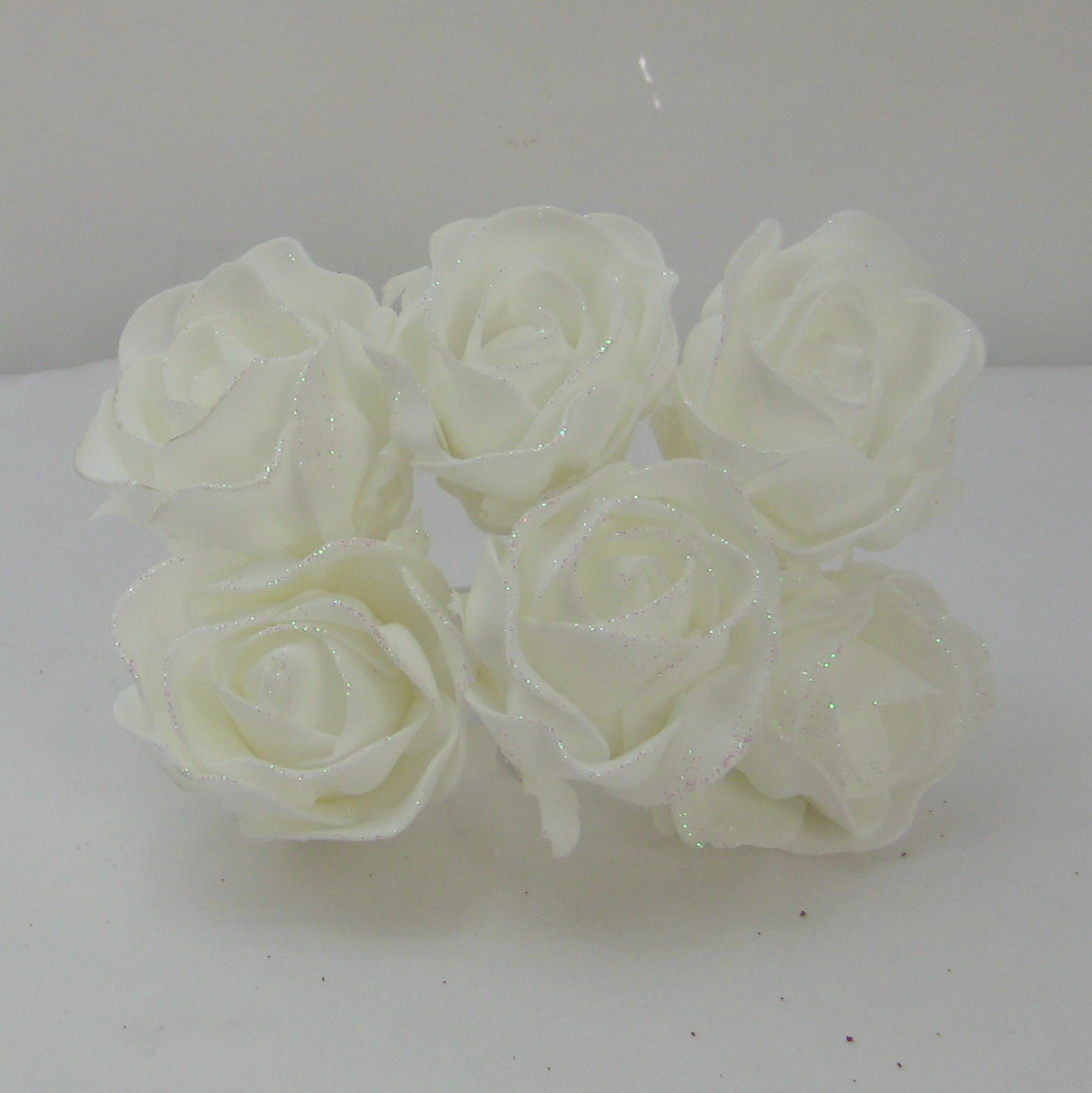 ALL COLOURS Specail offer £1.50 12 Babies Breath Pearl Flowers Satin