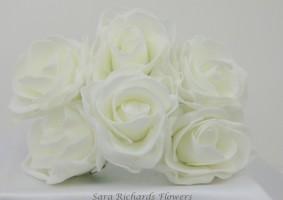 Bridal 8cm Roses