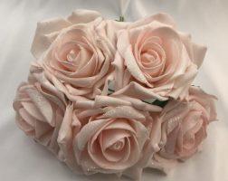 Christmas Glitter Roses