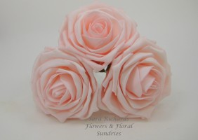 Large Display Foam Roses