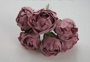 6 cm Peony Rose Bunch