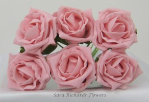 Quality Cottage Rose 6cm