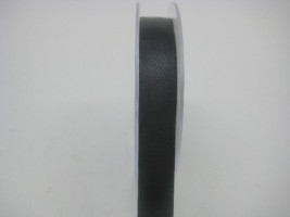 15 MM X 22.5 METRES SATIN RIBBON IN BLACK- IF QUANTITY IS MORE THAN 10 PAY £1.05 A ROLL