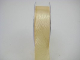 RS25MM 25 MM X 22.5 METRES SATIN RIBBON IN GOLD- IF QUANTITY IS MORE THAN 5 PAY ONLY £1.59 A ROLL