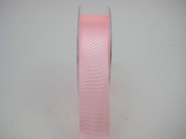 RS25LC 25 MM X 22.5 METRES SATIN RIBBON IN LIGHT CORAL- IF QUANTITY IS MORE THAN 5 ROLLS PAY ONLY £1.59 A ROLL