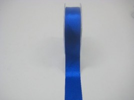 RS25RY 25 MM X 22.5 METRES SATIN RIBBON IN ROYAL BLUE- IF QUANTITY IS MORE THAN 5 ROLLS PAY £1.59 A ROLL