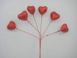 Sparkle Heart Stems