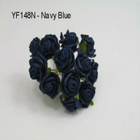 YF148N  MINI TEA ROSE IN NAVY