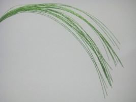 YF162EM LONG STEM GLITTER BRANCH IN EMERALD GREEN
